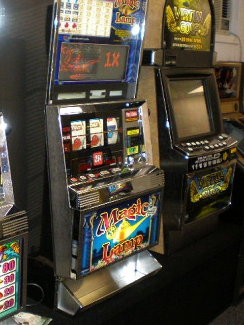 Slot Machines and Video Machines